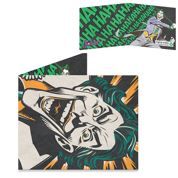 Batman Joker's Last Laugh Mighty Wallet