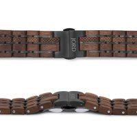 Jord Hawaiian Koa Wood Apple Watch Band