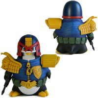 Judge Dredd Cosplay Penguin