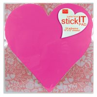 Jumbo Heart Stick It Pad