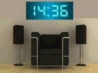 Jumbo Size Digital Wall Clock
