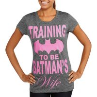 Juniors Training To Be Batmans Wife Graphic T-Shirt