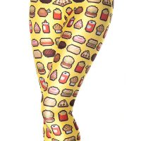 Junkfood Yellow Leggings
