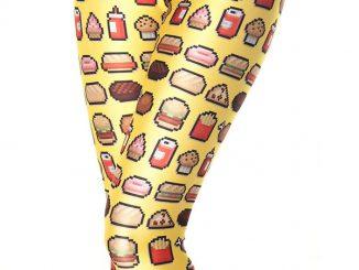 Junkfood Yellow Leggings