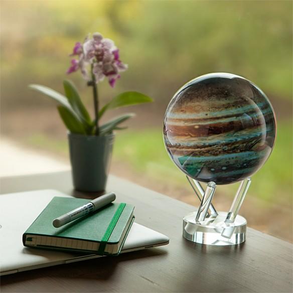 Jupiter Solar Spinning Globe