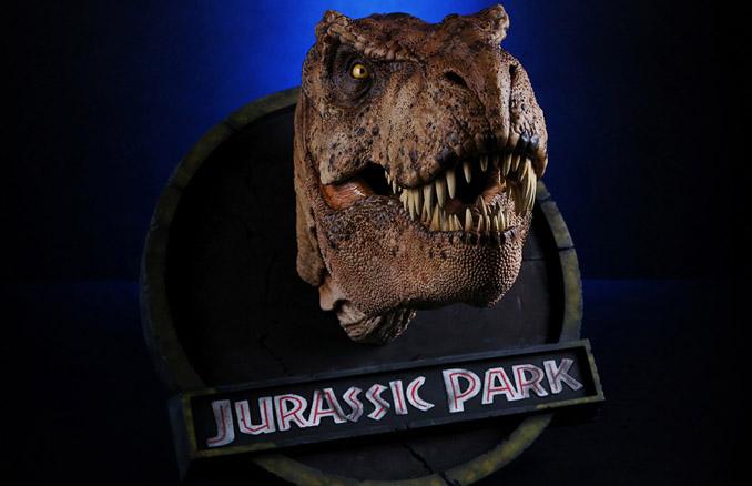 Jurassic Park Female 1 5 Scale T Rex Bust