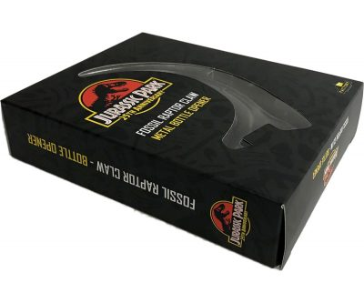 Jurassic Park Fossil Raptor Claw Metal Bottle Opener Box