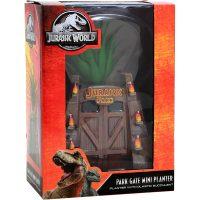 Jurassic Park Gates Faux Succulent Planter Box