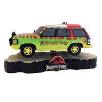 Jurassic Park Park Explorer Vehicle Premium Motion Statue