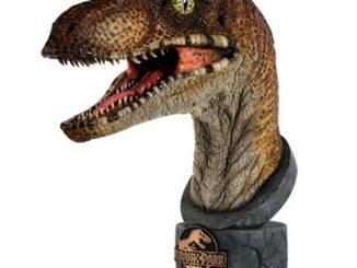 Jurassic Park Velociraptor 1 1 Scale Bust