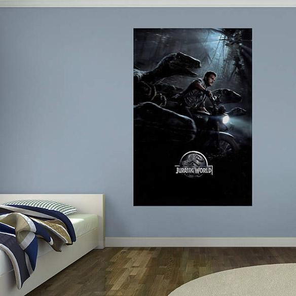 Jurassic World Chase Mural