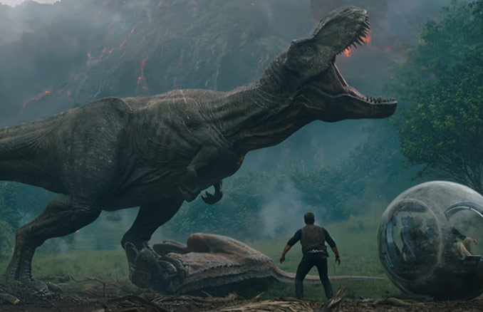 Jurassic World Fallen Kingdom Official Trailer 2 Hd