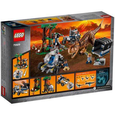 Jurassic World LEGO Carnotaurus Gyrosphere Escape
