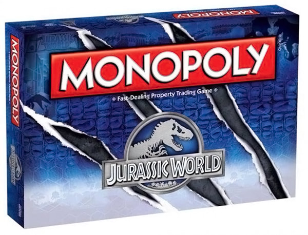 Jurassic World Monopoly Game