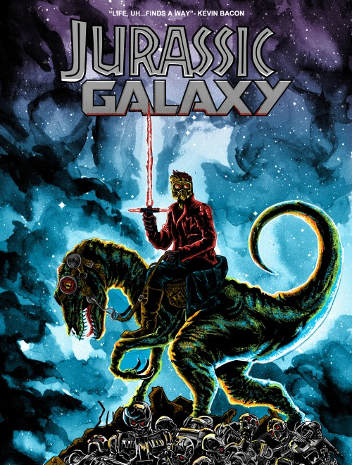 Jurrassic Galaxy Shirt