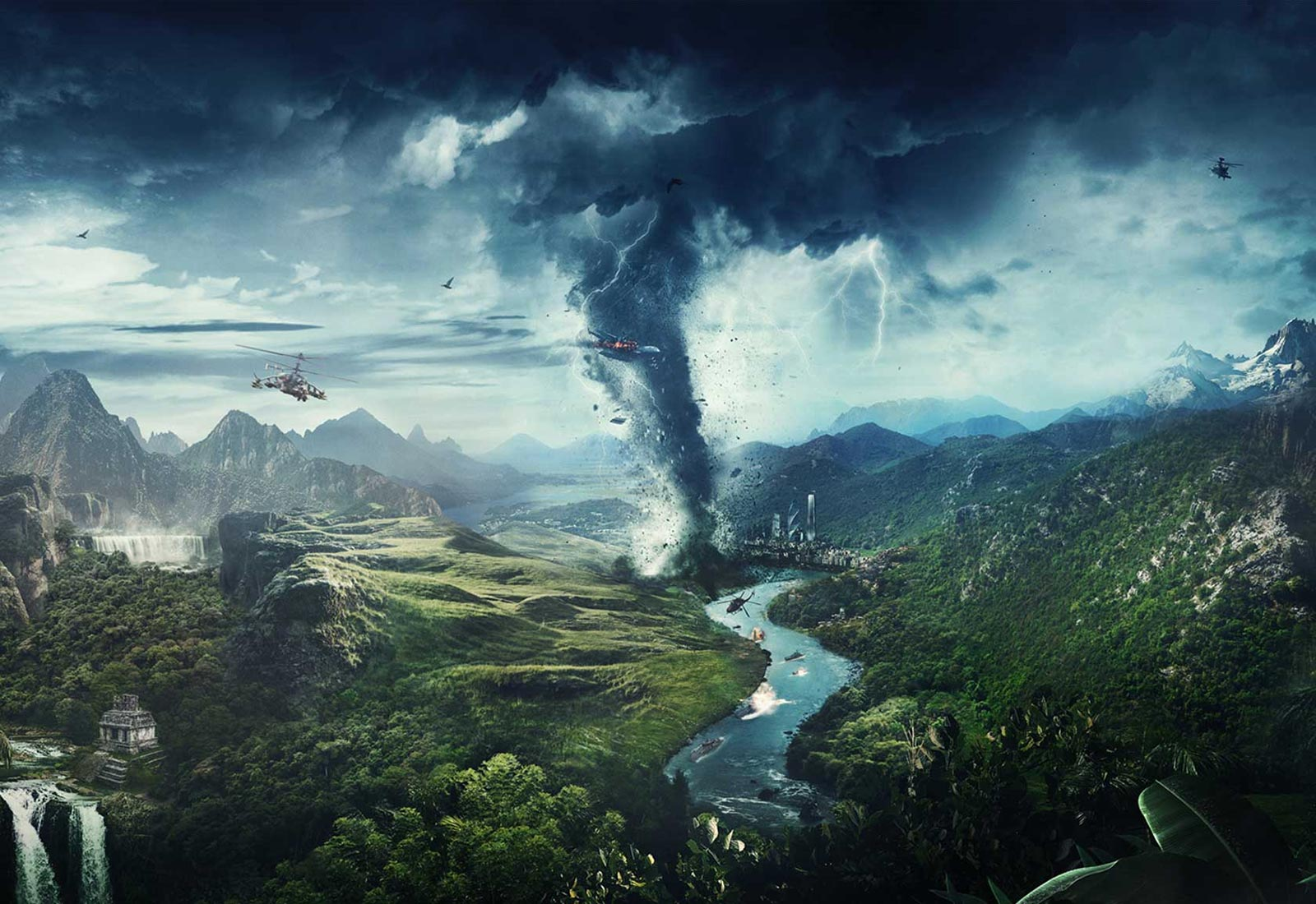 Just Cause 4: Tornado ...