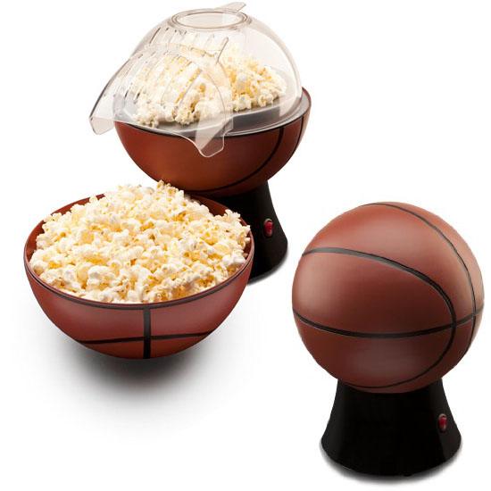Just Pop It Hot Air Basketball Popcorn Popper