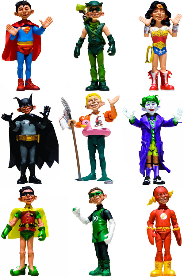 Just Us League of Stupid Heroes action figures