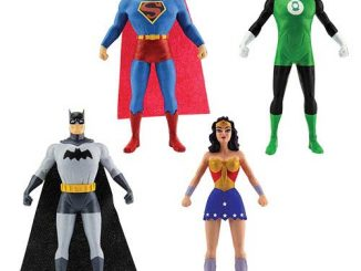 Justice League 5 1 2-Inch Bendable Figure 4-Pack