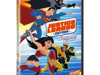 Justice League Action Season 1 Part 2 DVD