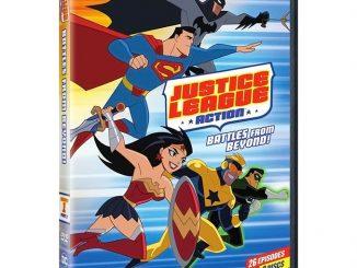 Justice League Action Season 1 Part 2 DVD