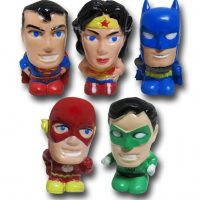 Justice League Eraser Topper 5-Pack