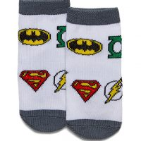 Justice League Infant Socks 6-Pack
