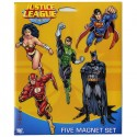 Justice League Magnet Set