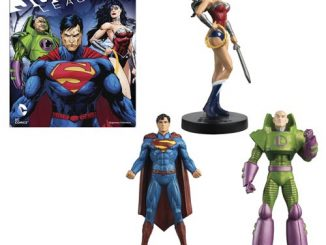 Justice League Masterpiece Series 3 Statues With Collector Magazine
