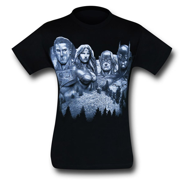 Justice League Mount Justice T-Shirt