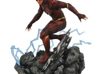 Justice League Movie Flash Gallery Statue