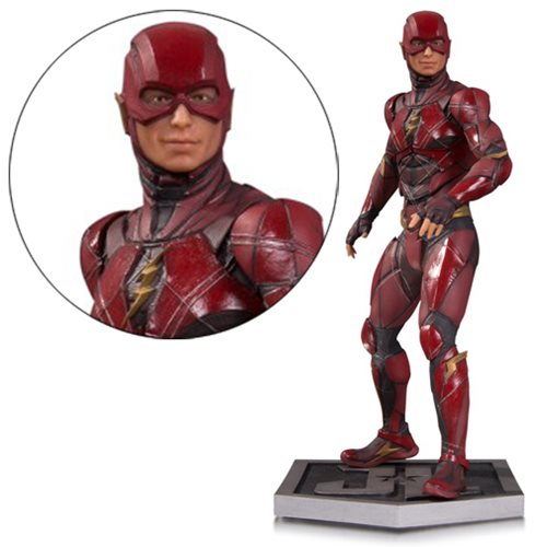 Justice League Movie Flash Statue