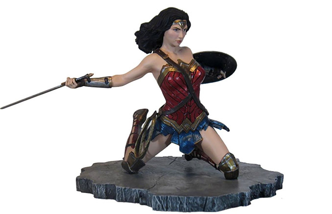 f24d3d019ca Justice League Movie Gallery Wonder Woman Statue