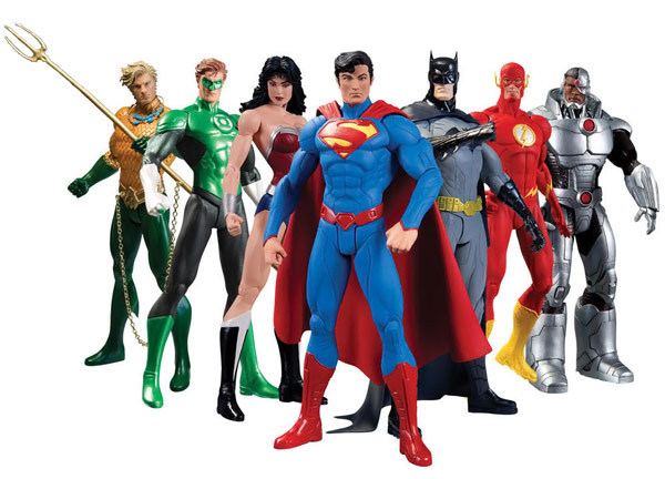 Justice League NEW 52 Action Figures