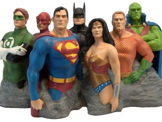 Justice League Original 7 Sculpture