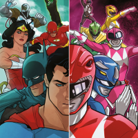 Justice League Power Rangers Comic Book