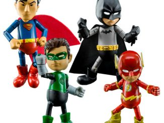Justice League Series 0.5 Hybrid Metal Figuration Die-Cast Metal Mini-Figure 4-Pack