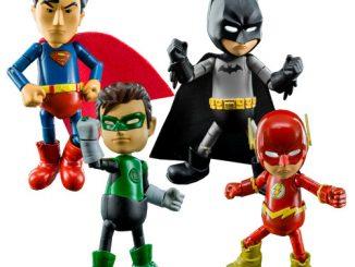 Justice League Series 0.5 Hybrid Metal Figuration Die-Cast Metal Mini-Figure 4-Pack