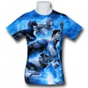 Justice League Space Patrol Sublimated TShirt