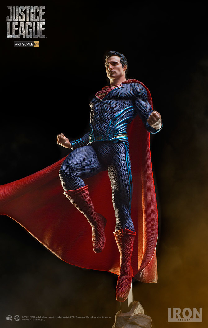 Justice League Superman 1 10 Scale Statue