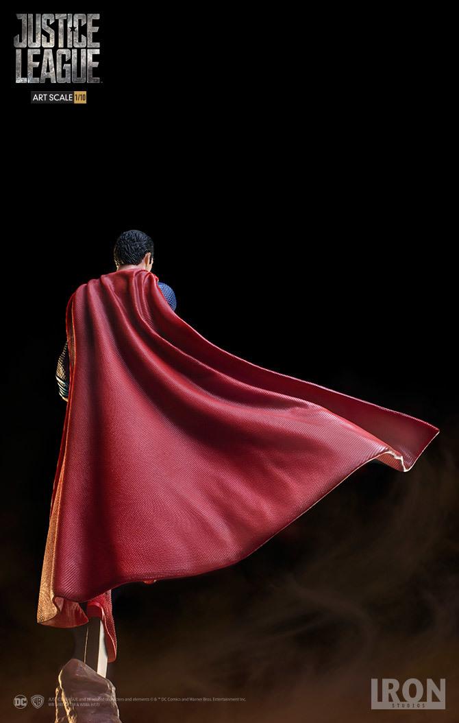 Justice League Superman 1 10 Scale Statue