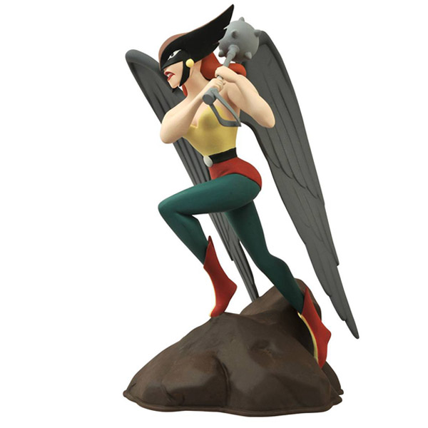 Justice League The Animated Series Hawkgirl Femme Fatales Statue