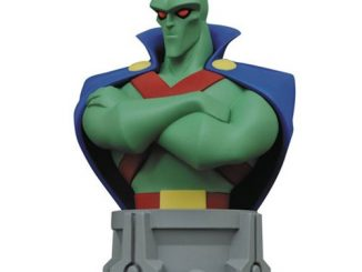 Justice League The Animated Series Martian Manhunter Bust