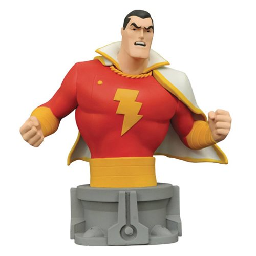 Justice League The Animated Series Shazam Bust