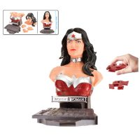 Justice League Wonder Woman Bust 3-D Puzzle