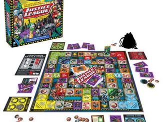 Justice League of America Road Trip Board Game