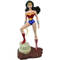 Justice League of America The Animated Series Wonder Woman Femme Fatales Statue