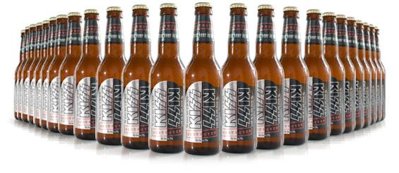 KISS Destroyer Beer - 24 Bottle Pack