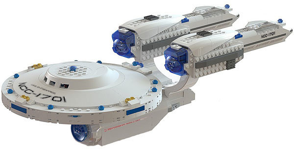KRE-O USS Enterprise Building Block Set
