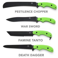 Ka-Bar Zombie Killing Knives